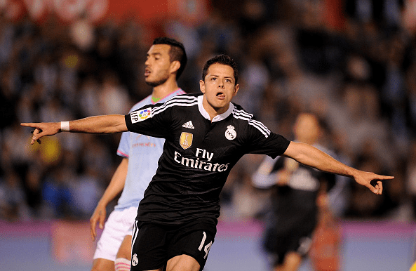 90dd08c9b Javier Hernandez Scores Twice in Real Madrid Victory Over Celta Vigo - The  All Out Sports Network
