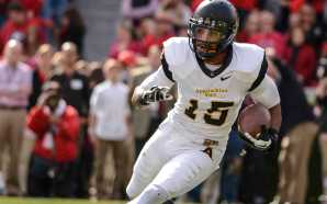 Senior wide receiver Tony Washington has 51 receptions for 715 this season. Photo by Justin Perry | The Appalachian