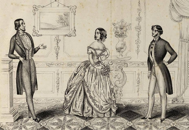 Detail from Taylor lithograph