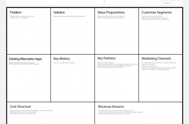 App Business Model Canvas