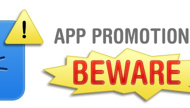 App Promotion - Beware of These