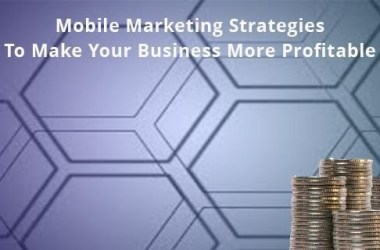 Mobile Marketing Strategies To Make Your Business More Profitable