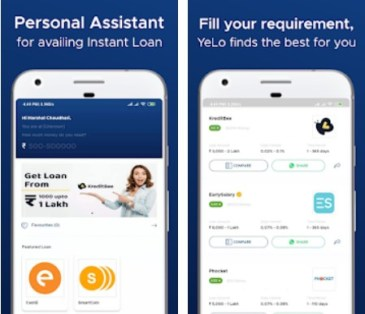 Yelo personal assistant app