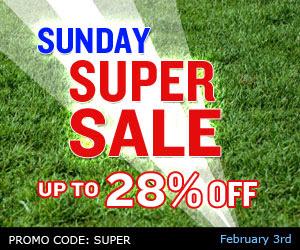 Super Bowl Sunday…Sunday…Sunday!