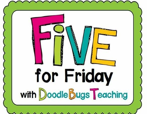 Shhhh…. It's Five for Friday