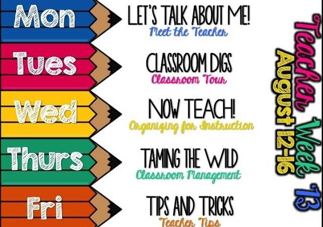 Teacher Week 2013- Let's Talk About Me!