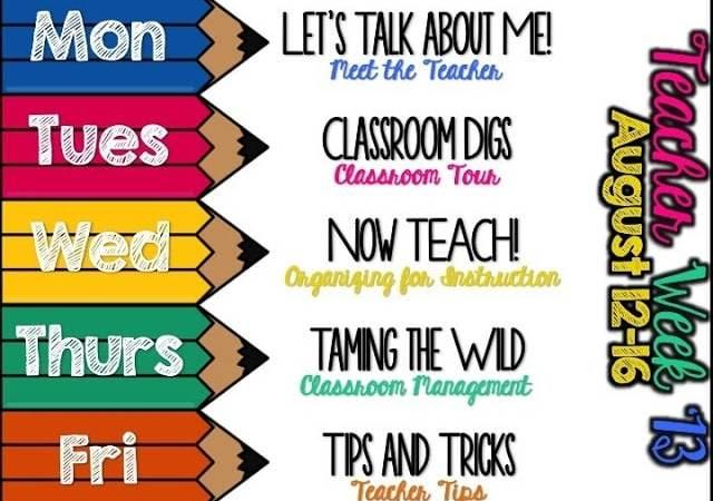 Teacher Week 2013- Let's Talk About Me!
