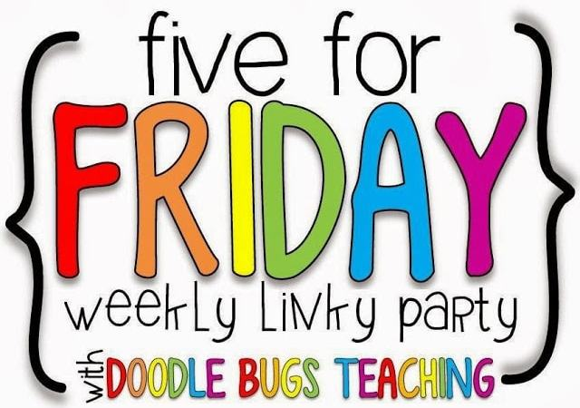 Five for Friday- Sept 27th Edition