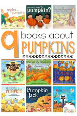 9 Books you must have when learning about pumpkins!