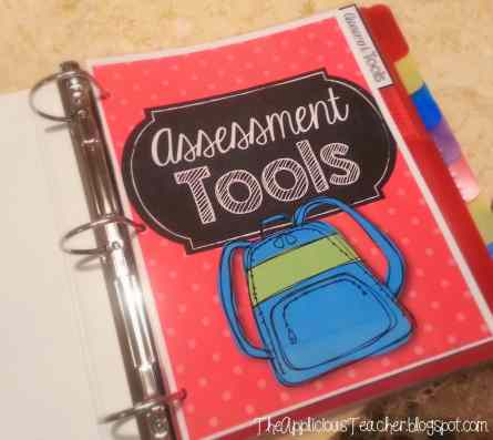student data binder- keeping yourself organized with all your student data