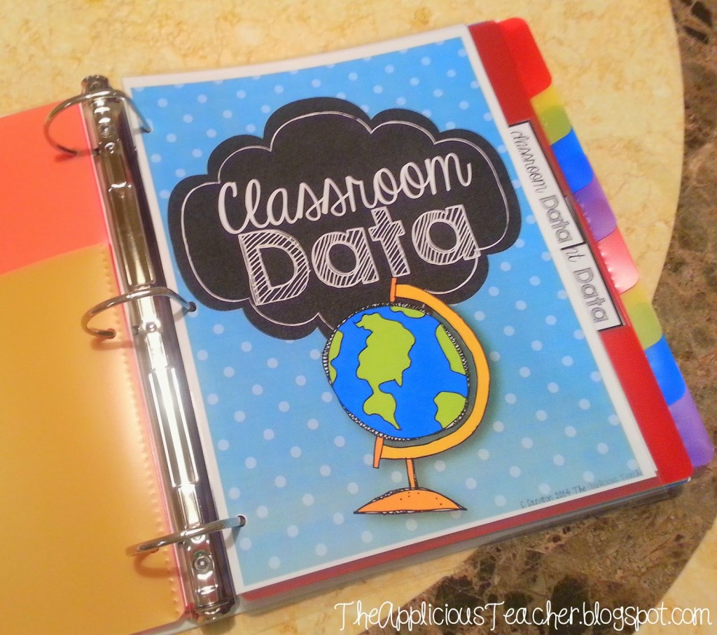 Student Data Binder: Keeping Your Student Data Organized