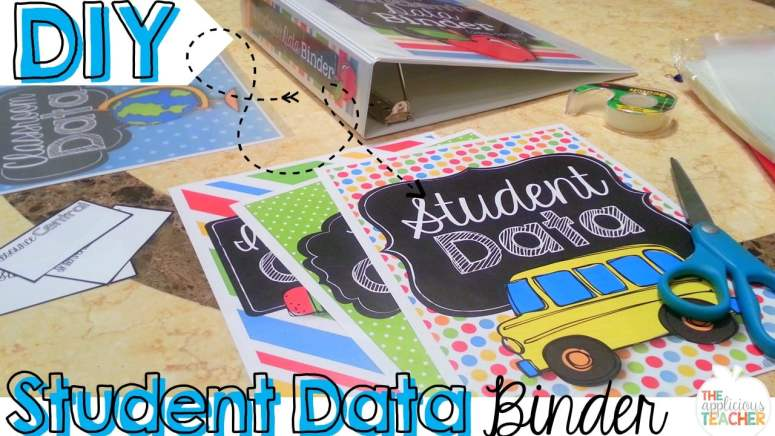 Student Data Binder-keeping it all in one spot!