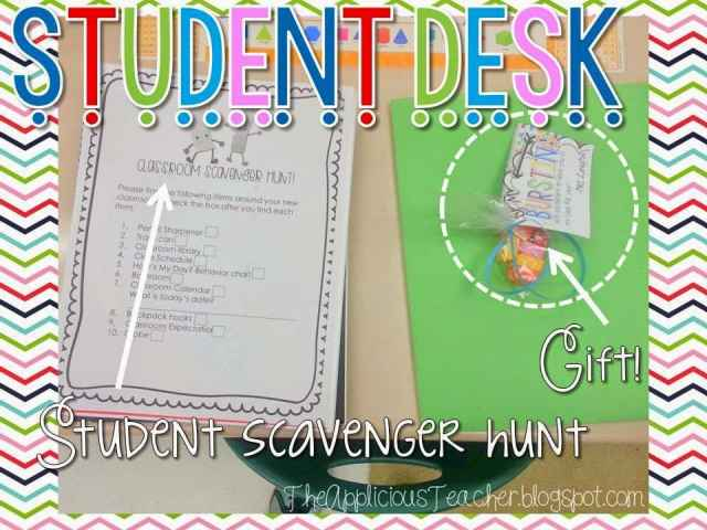 Meet the Teacher gifts for students