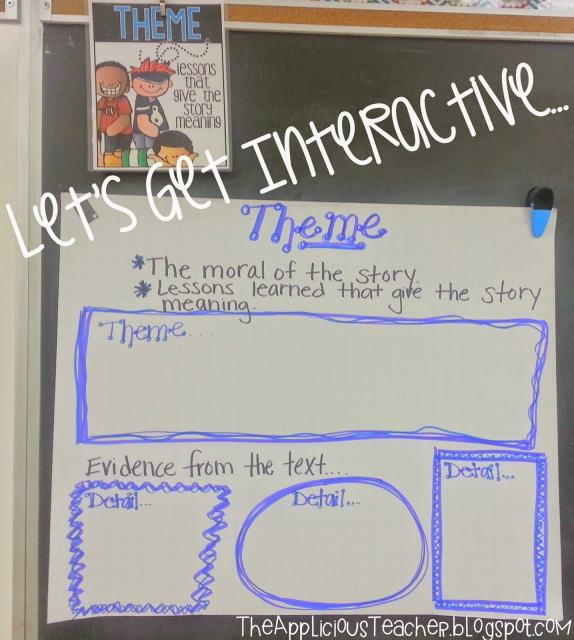 theme interactive anchor chart
