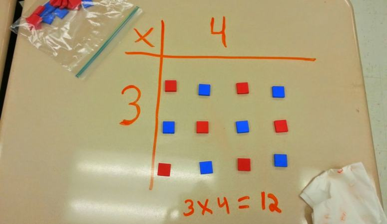 Learning Multiplication with Arrays!