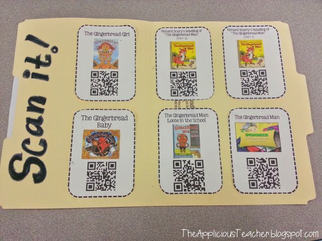QR code literacy center
