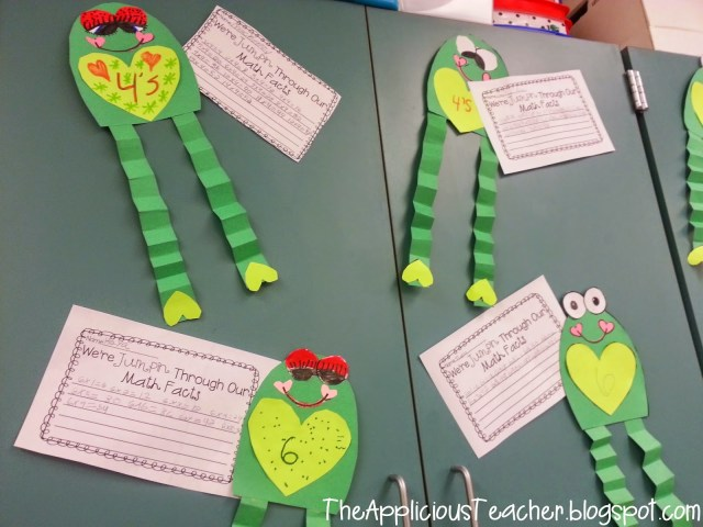 multiplication facts craft