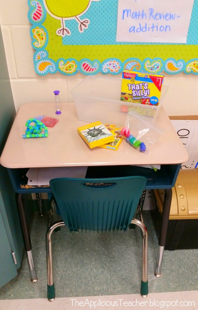 Using a Cool Down Box: Helping students Self Regulate and ...