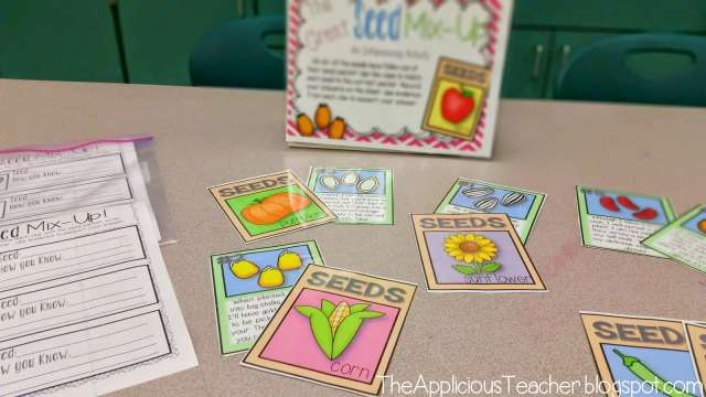 plant thematic unit literacy ideas
