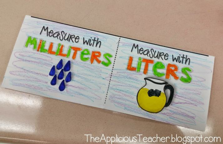 milliliters or liters flipbook