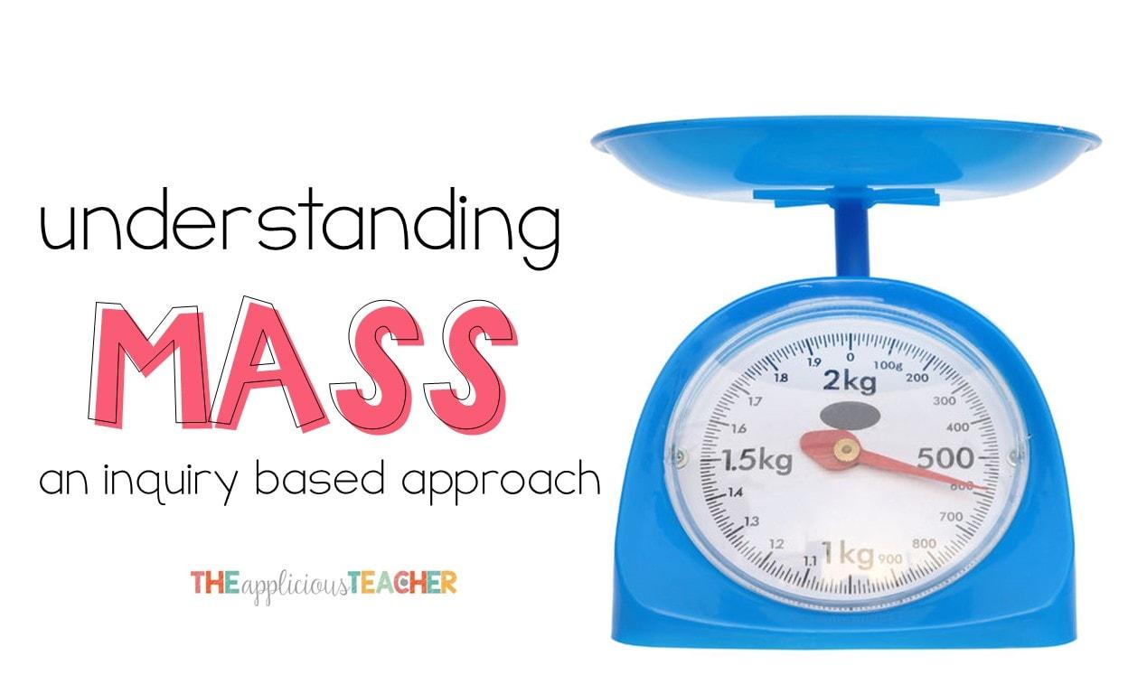 Measuring Mass And A Fun Math App