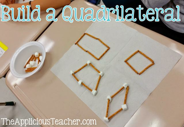build a quadrilateral hands on activity