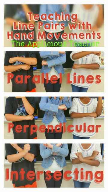 line pairs hand motions