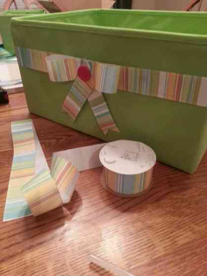 creative teacher storage bin