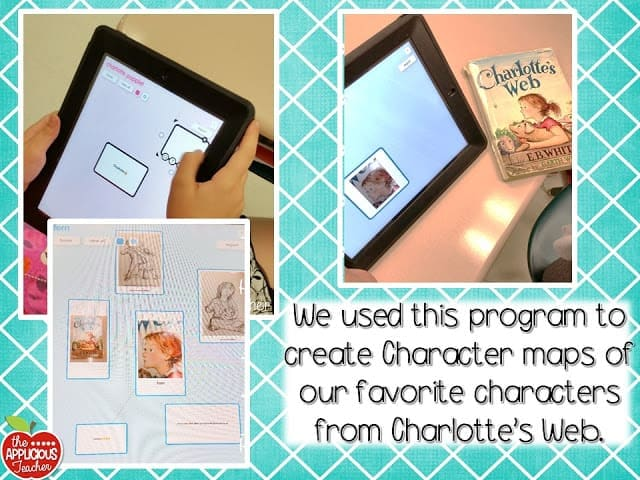 character web using popplet