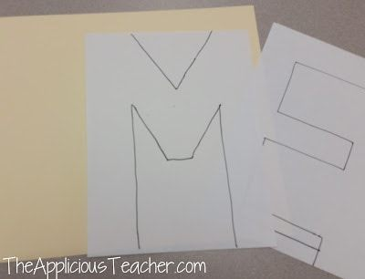 """how to make a """"Me"""" poster for back to school"""