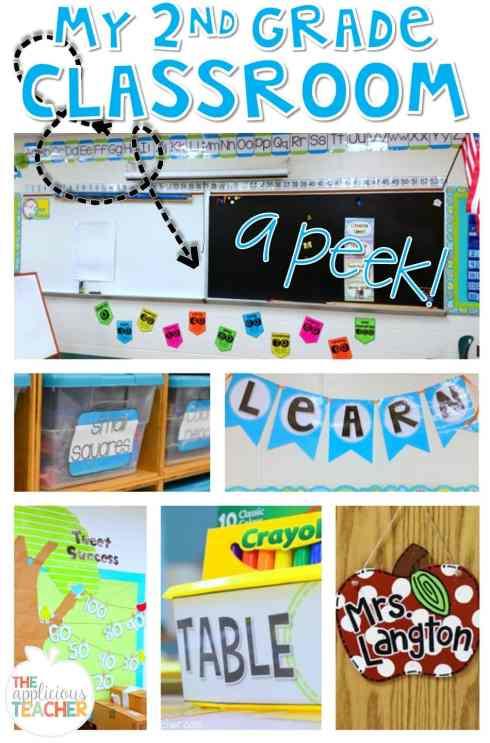 Take a peek at my second grade classroom