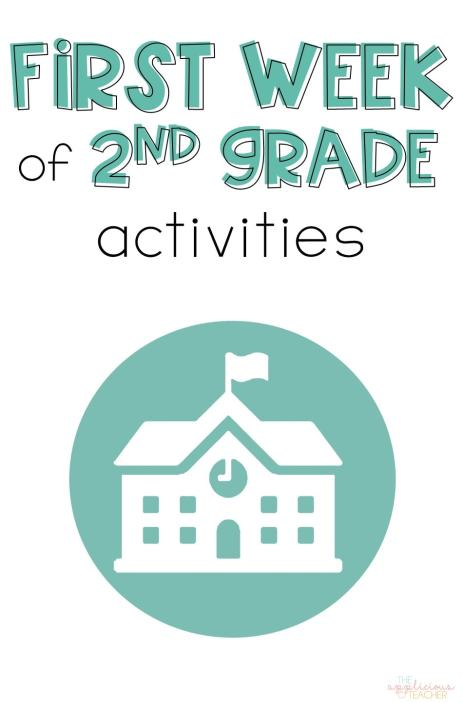First week of 2nd grade activities- love all these first week of school reading and math ideas! TheAppliciousTeacher.com #backtoschool #2ndgrade #firstweekofschool