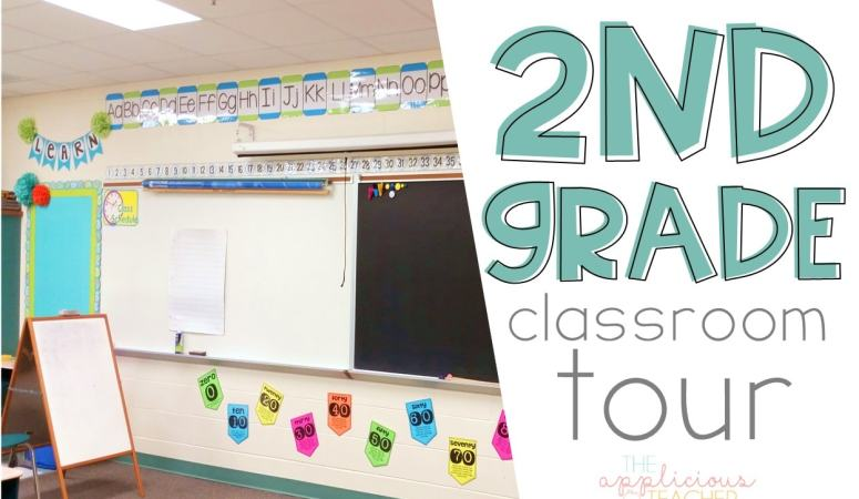 Come check out my 2nd grade classroom! TheAppliciousTeacher.com