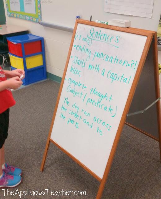descriptors of a sentence