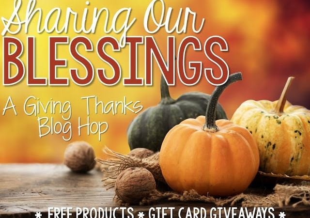 Sharing Our Blessings Blog Hop