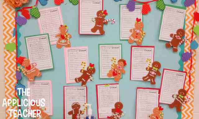 One Smart Cookie- Gingerbread bulletin board idea