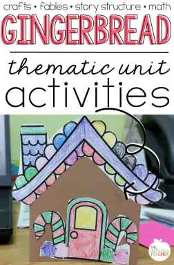 """Gingerbread man thematic unit and activities- great ideas for using """"The Gingerbread Man"""" in a second or third grade classroom. Love all the standards you can pull into this amazing unit!"""