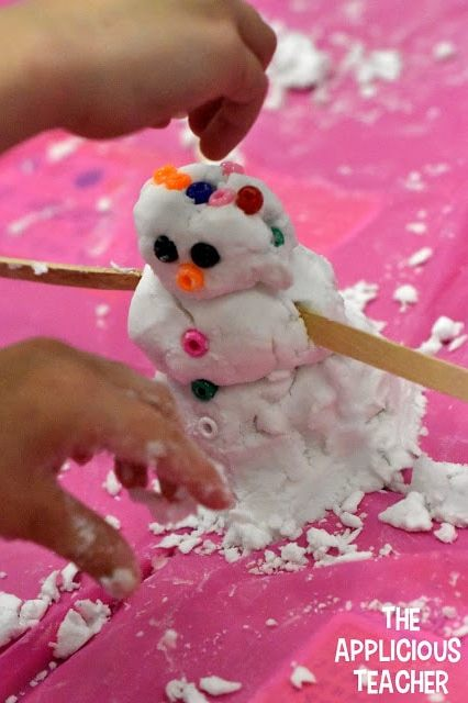 classroom snowman