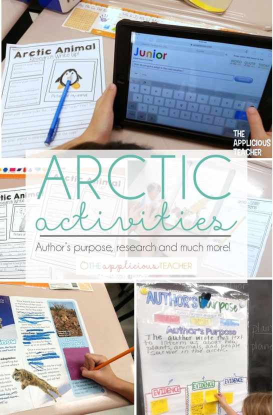 Activity ideas for an arctic study! Love all the engaging ideas in this post! TheAppliciousTeacher.com