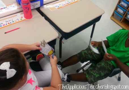 classroom rules-scenario cards