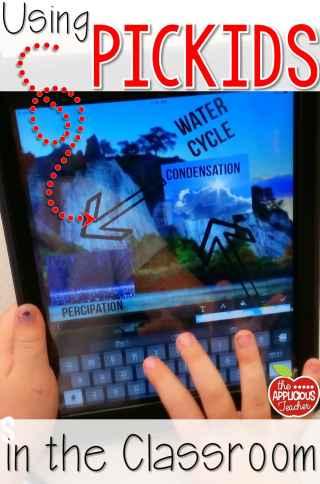 creating digital posters using Pickids