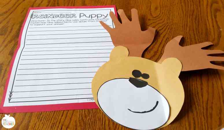 Olive the other Reindeer writing craft