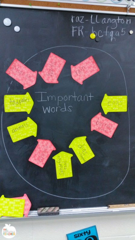 help student summarize a non-ficiton text by having them pull out the most important words