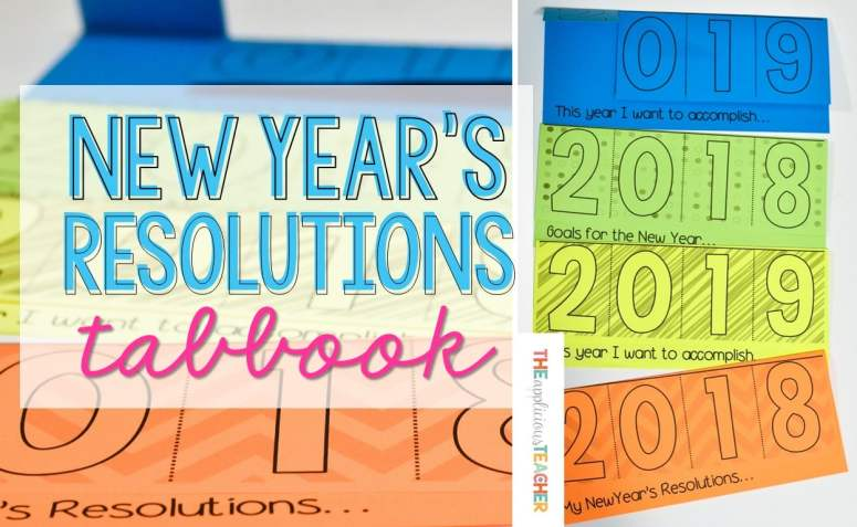 New Year's Resolution Freebie 2018