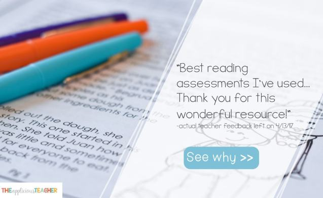 reading assessments for 2nd and 3rd grade
