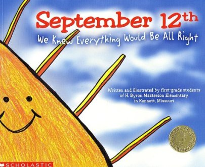 September 12th- great book suggestion for Patriot's day.