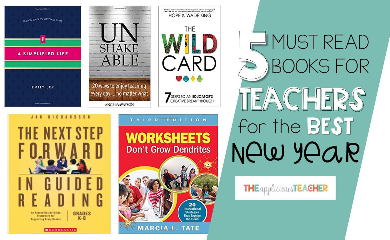 Must Read Books For Teachers In The New Year