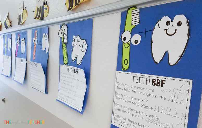 tooth poem about brushing teeth tooth activities for kindergarten