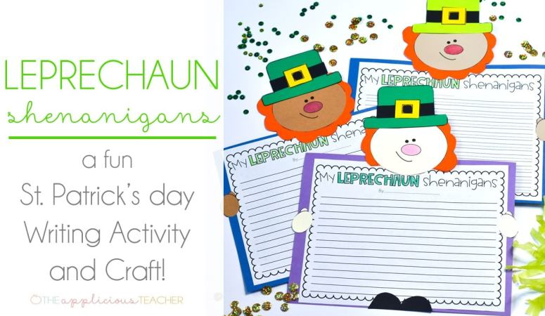 St Patrick's Day Activity: Leprechaun Writing Shenanigans
