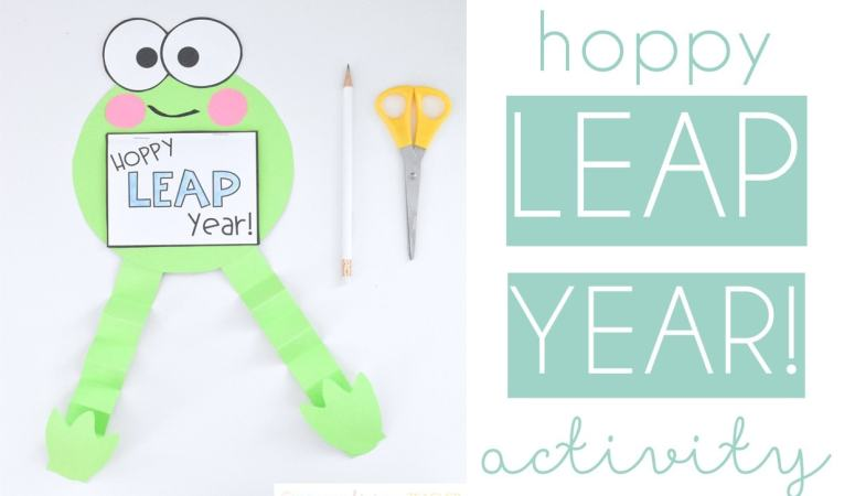 Hoppy Leap Year: Easy Leap Day Activity
